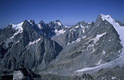 Panorama Glacier Noir actuel
