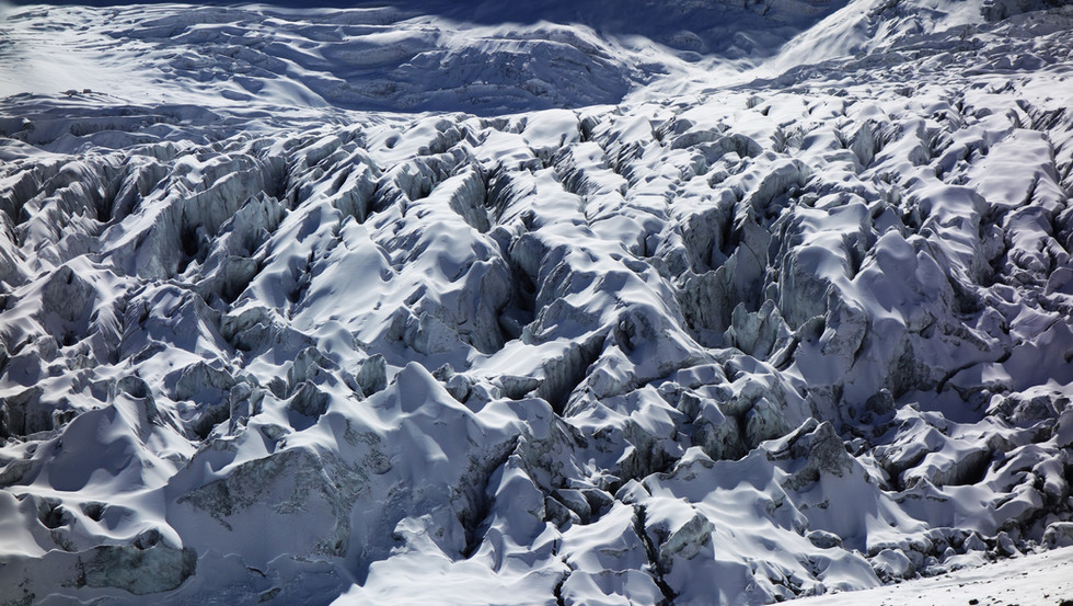 Glacier du Népal