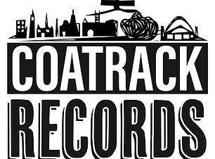 CoatRack black text Logo by Abby Hillyer