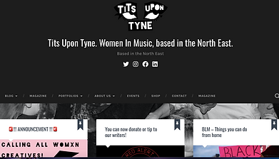 TITS UPON TYNE Based in the North East a