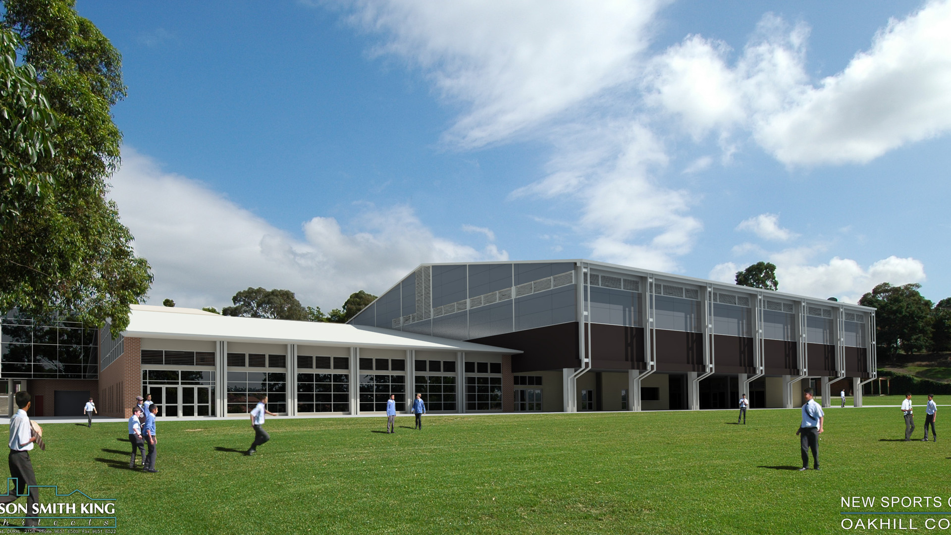 oakhill college sports complex
