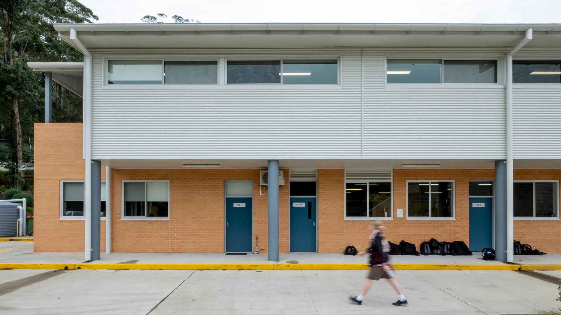 Green Point Christian College TAS Buildi