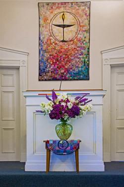 Sunday Flowers & Tapestry