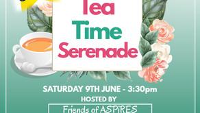 Tea Time Serenade Fundraiser Event