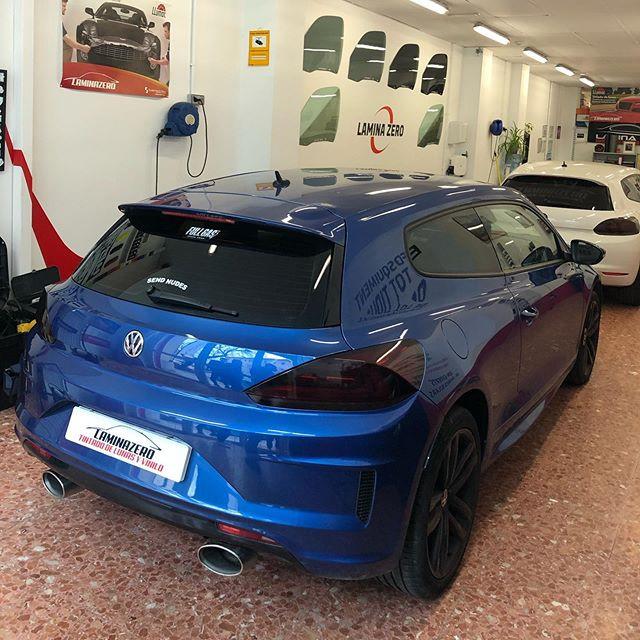 Volkswagen Scirocco •▪️Tintado de Lunas
