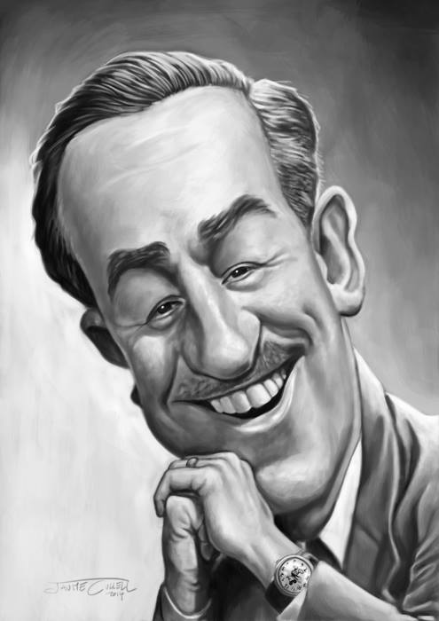 WALT DISNEY_Digital Painting, 2014