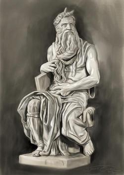 MOISES_Digital Painting, 2012