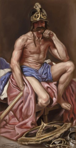 MARTE__Digital Painting, 2012____This is a Digital Painting study of a painting of one of my all-tim