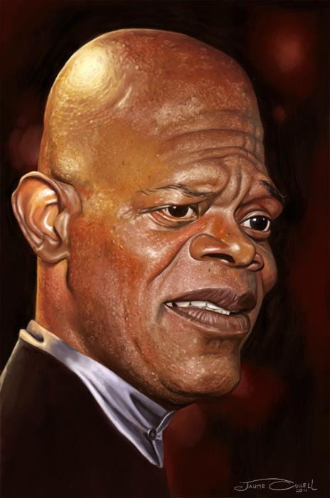SAMUEL L JACKSON____Digital painting
