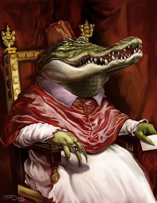CROCODILE POPE