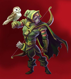#CharacterDesign #Ranger #Fantasy #Roleplayingame #Illustration #Drawing