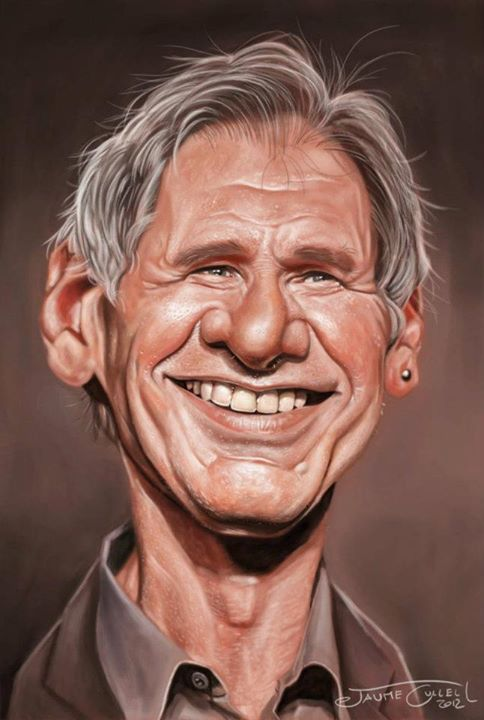 HARRISON FORD__Digital Painting, 2012