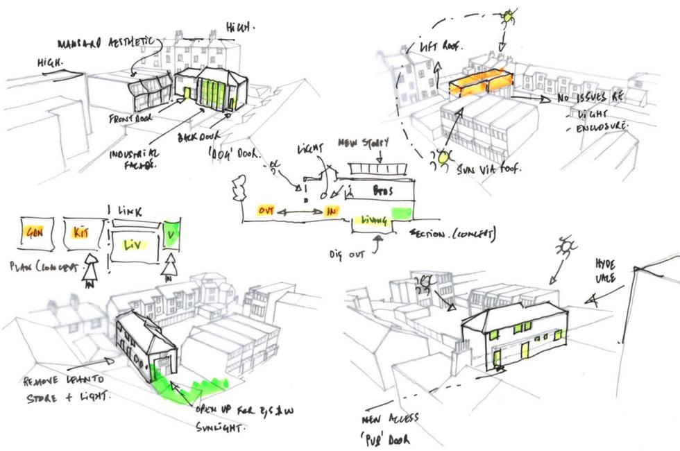 Hawks Mews | © footprintdesignstudio | Architecture | Interior Design | Greenwich | London