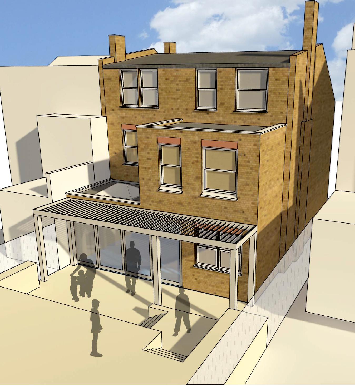 Curzon Road   Muswell Hill   © footprintdesignstudio   Architecture   Interior Design   Greenwich   London