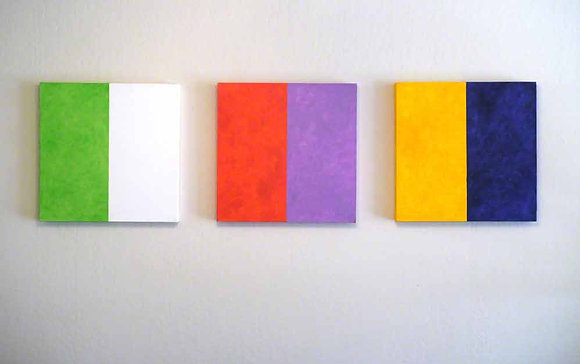 6 Color Triptych, 2005