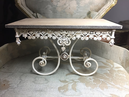 18th Century ORNATE French bread table 12th scale unpainted kit