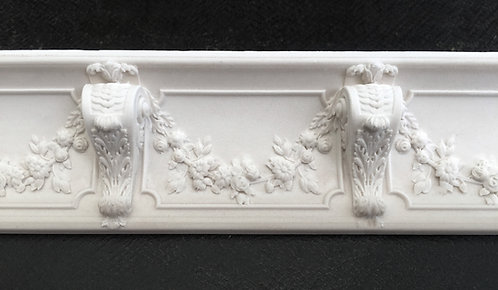French 18th Century cornice F