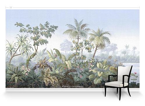 Botanica Scene Panorama Wallpaper Mural