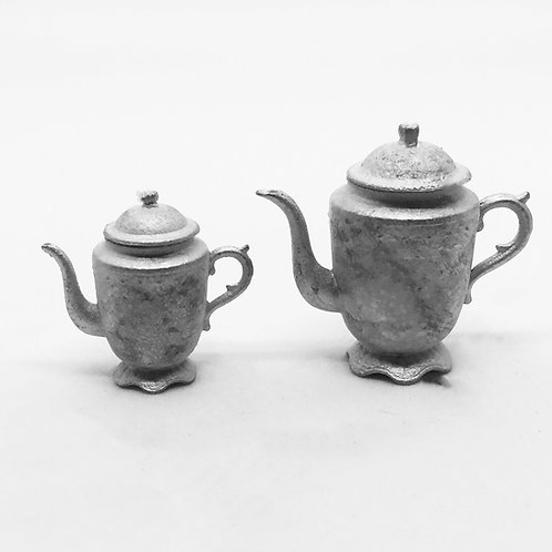 Pretty Antique Provence Coffee Pots (2 sizes)