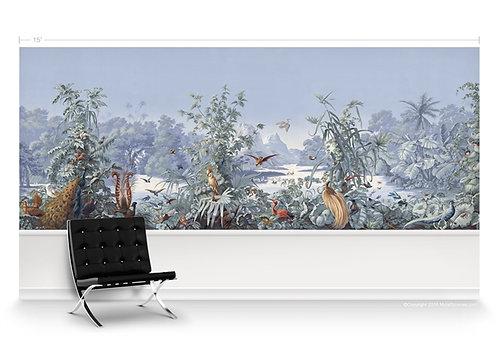 New World Scene Panorama Wallpaper Mural