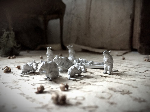 12th scale Rats (choose from a selection)