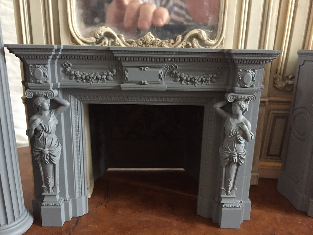 Preview of another of my prototype fire surrounds