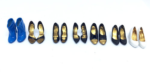 Womens 20th Century Shoes