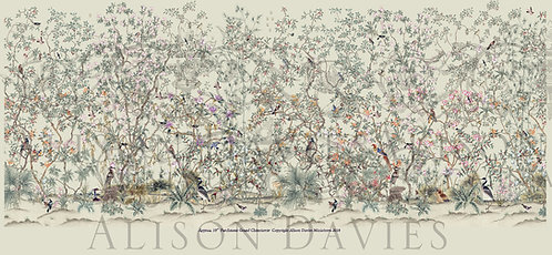 12th Scale Grand Chinoiserie wallpaper