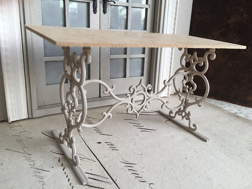18th Century French bread table 12th scale unpainted kit