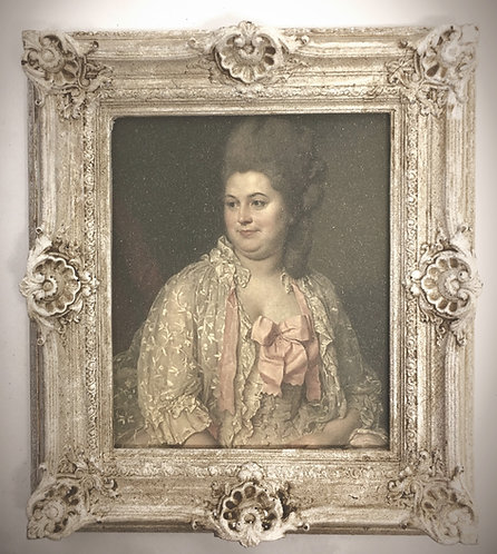 UNFINISHED 18th Century Louis  French swept Frames
