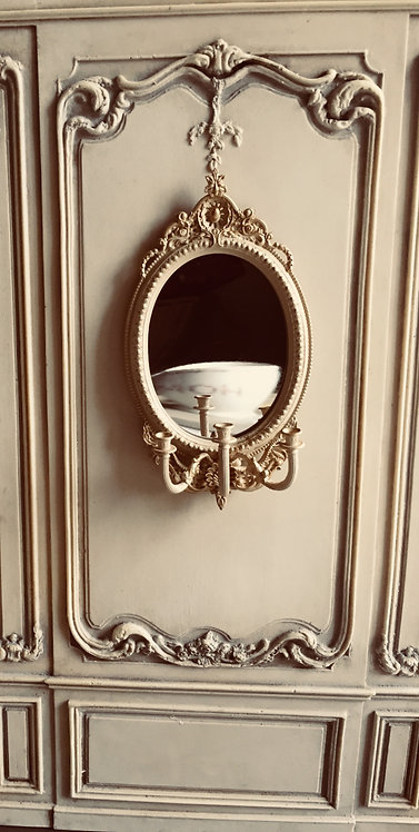 DIY KIT 18th C. Large  French Girondelle Mirror