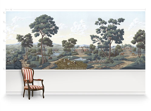 Virginia Scene Panorama Wallpaper Mural