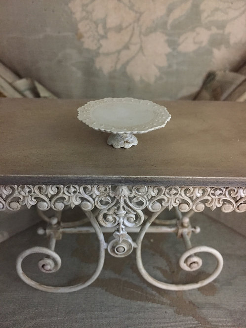 Pretty Antique Provence Cake stands