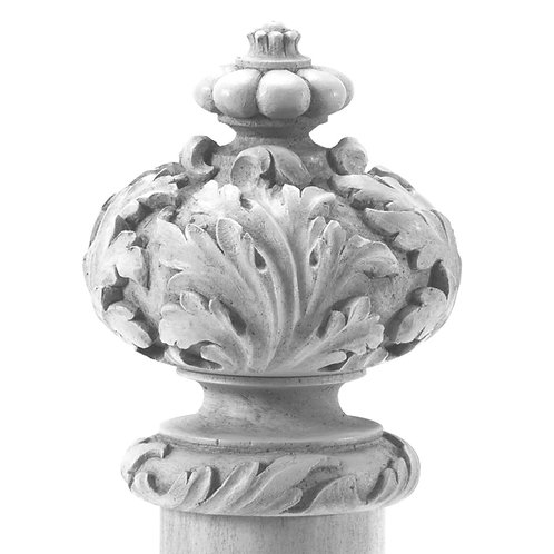 Paris Finial Available in 3 sizes unfinished