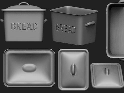 12th scale Bread Bin