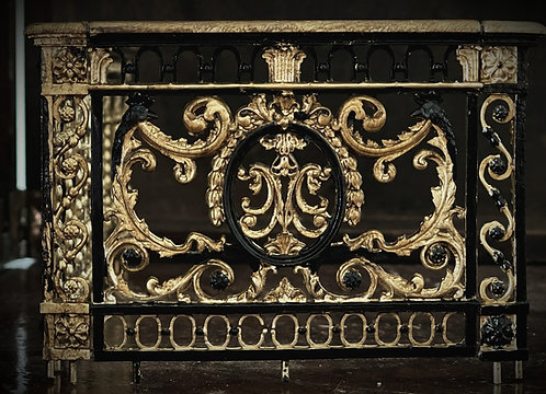 Bannister railings Kit from the Petit Trianon, Main Staircase, Versaille