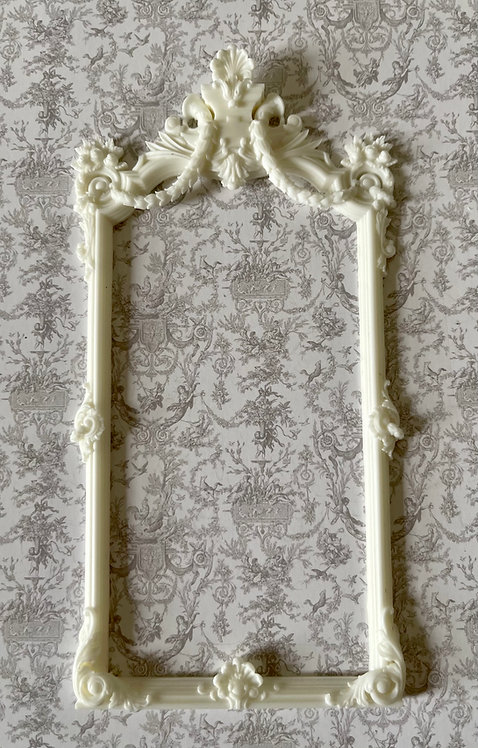 Large 18th century console table Mirror (12th scale) unfinished
