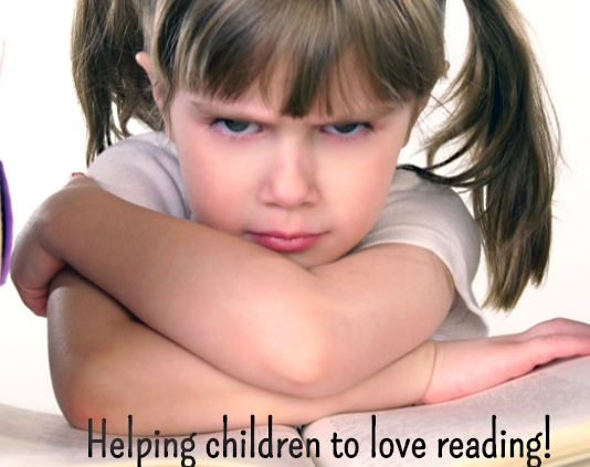 helping children love reading