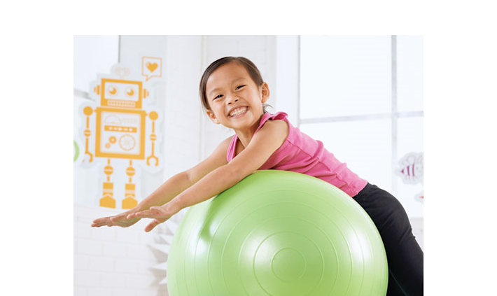 physio ball pilates exercise coordination core muscles