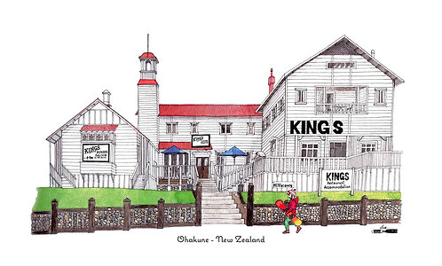 Kings Hotel - Ohakune