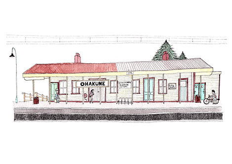 Ohakune Train Station