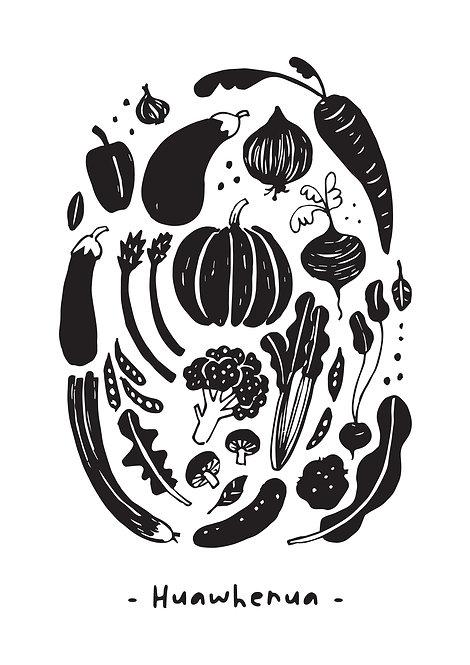 Huawhenua (veggies)