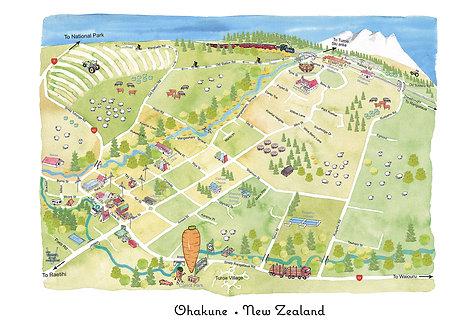 Ohakune Map