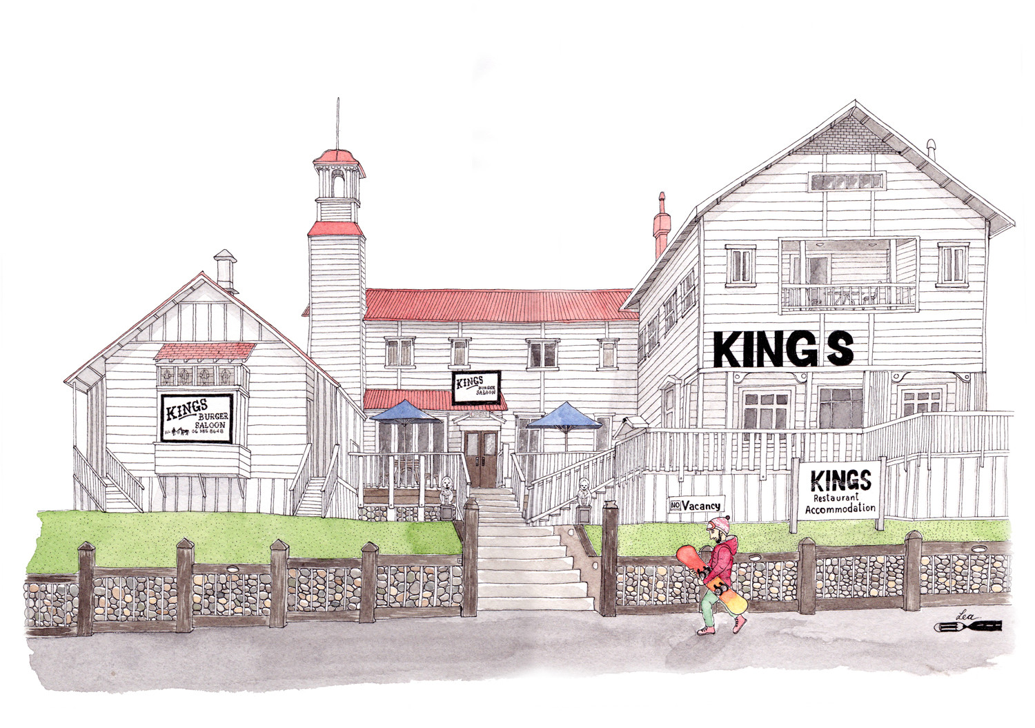 Kings Hotel - Ohakune, New Zealand