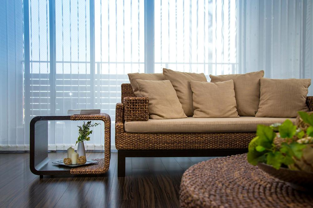 アジアン家具 YOTHAKAのGIコーヒーテーブル