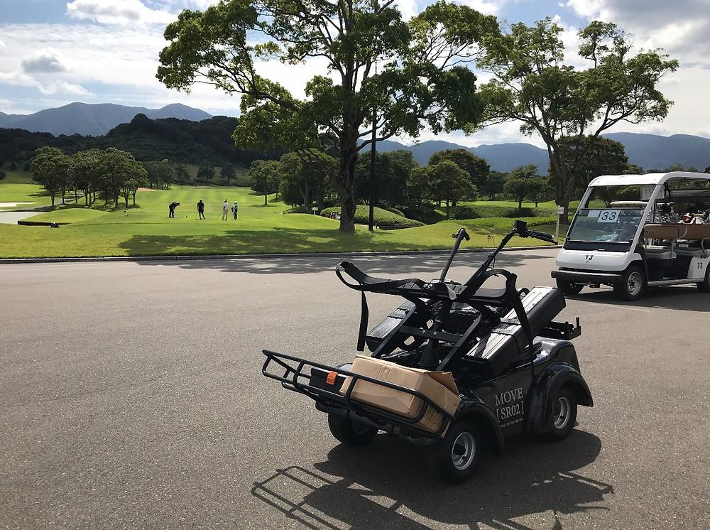 電動立ち乗りゴルフカート