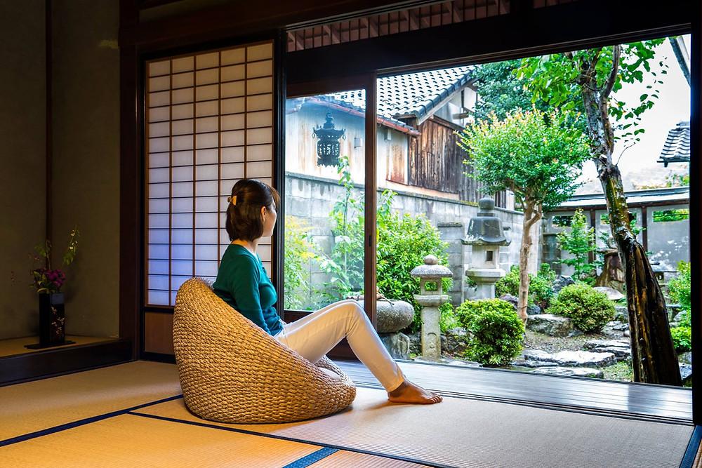 アジアン家具ウォーターヒヤシンス 座椅子