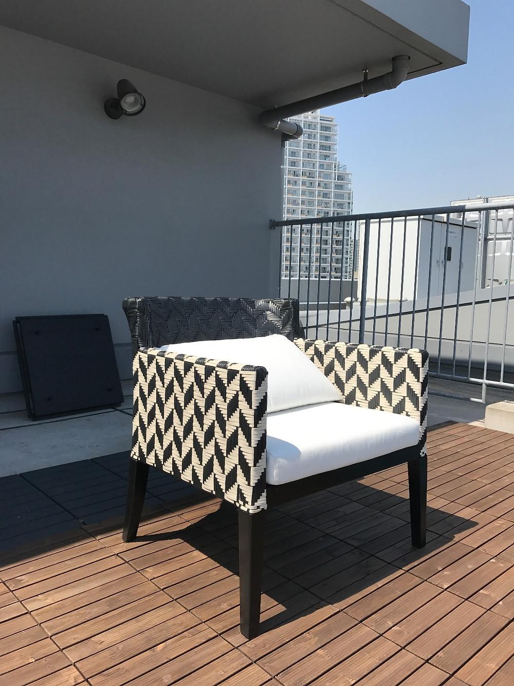 屋外対応家具 B-guard chair