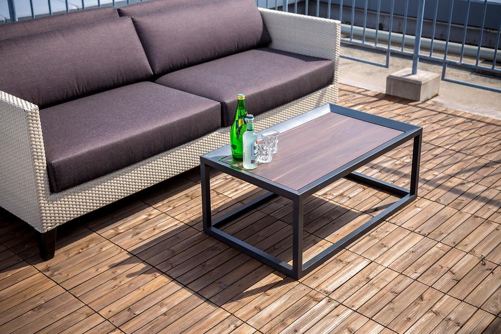 屋外用ソファ PANOとテーブル