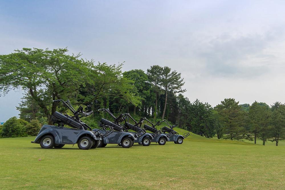 電動立ち乗りゴルフカート SR-02